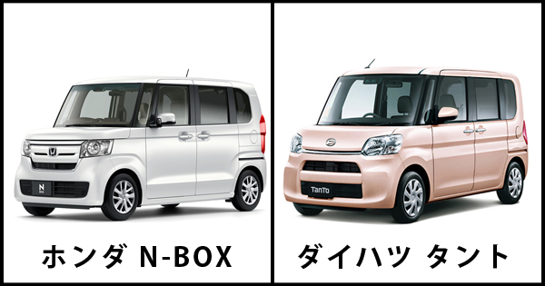 N-BOX vs タント どっちが人気!比較検証