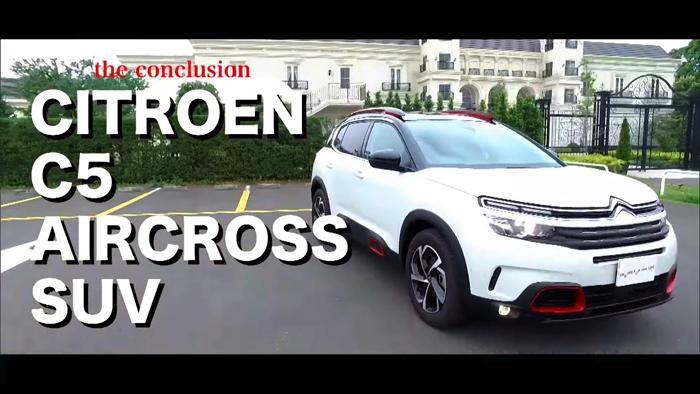 tvk「クルマでいこう!」公式 シトロエン C5 AIRCROSS SUV (2019/7/28放送)