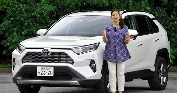 竹岡 圭の今日もクルマと・・・トヨタRAV4 Test Drive(2019/07/29)
