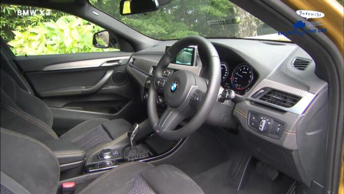 BMW X2 インテリア