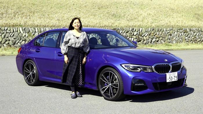 竹岡 圭の今日もクルマと・・・BMW3シリーズ Test Drive/モーターマガジンMovie(2019/03/24)