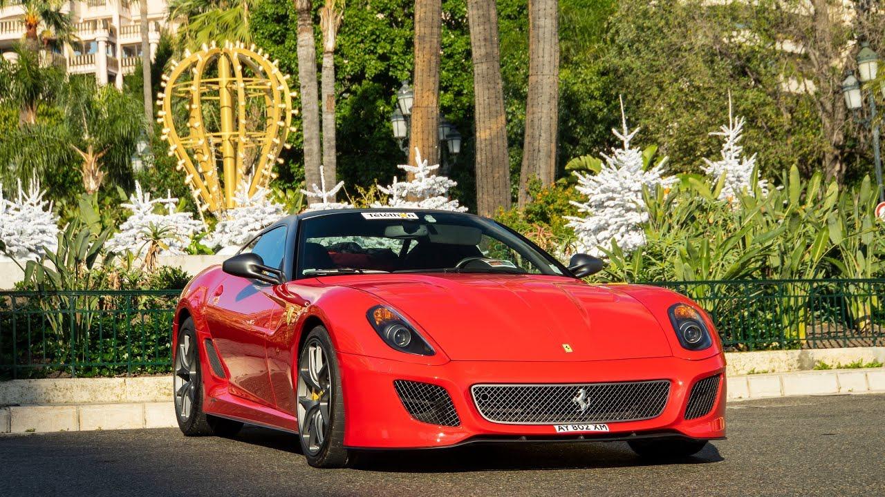 Ferrari 599 GTO Ride in Monaco - Loud Downshifts! Supercars of Austria(2019/12/19)