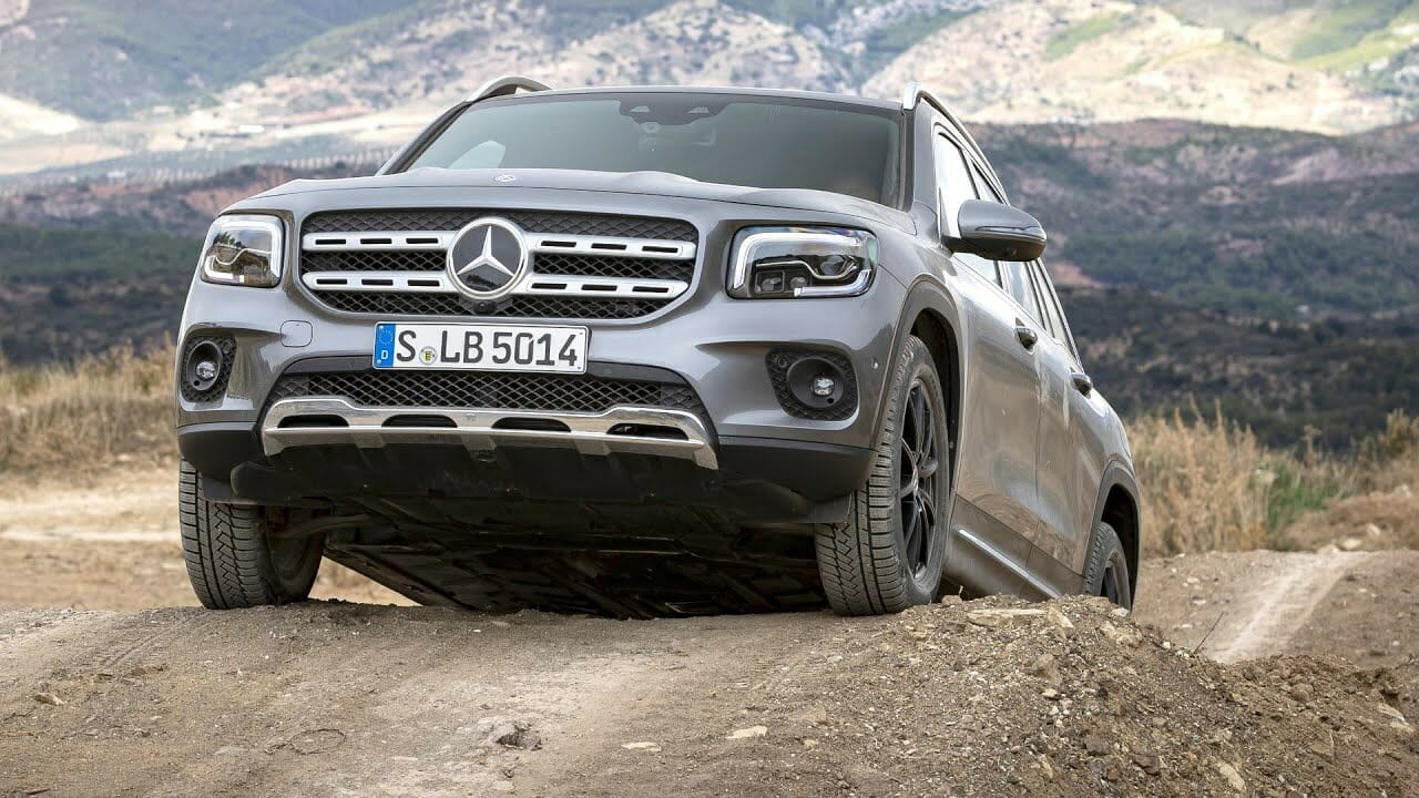 Mercedes-Benz GLB 200 d 4MATIC - Off-Road|CAR CHANNEL(2019/12/03)
