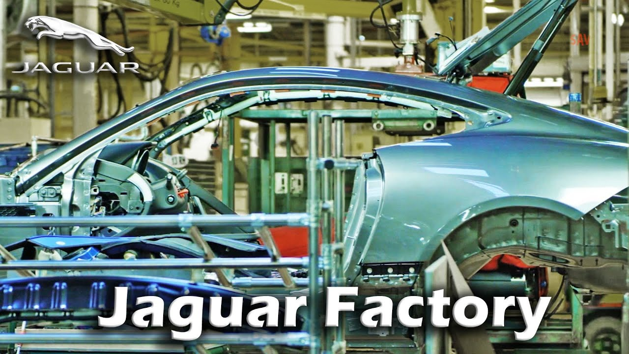 Jaguar Factory Tour, F-Type Production, XF Production, XJ Production at Castle Bromwich England|Kondor(2019/12/24)