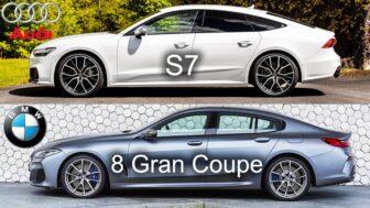 Audi S7 vs BMW 8 Series Gran Coupe 2020|Kondor(2019/12/21)