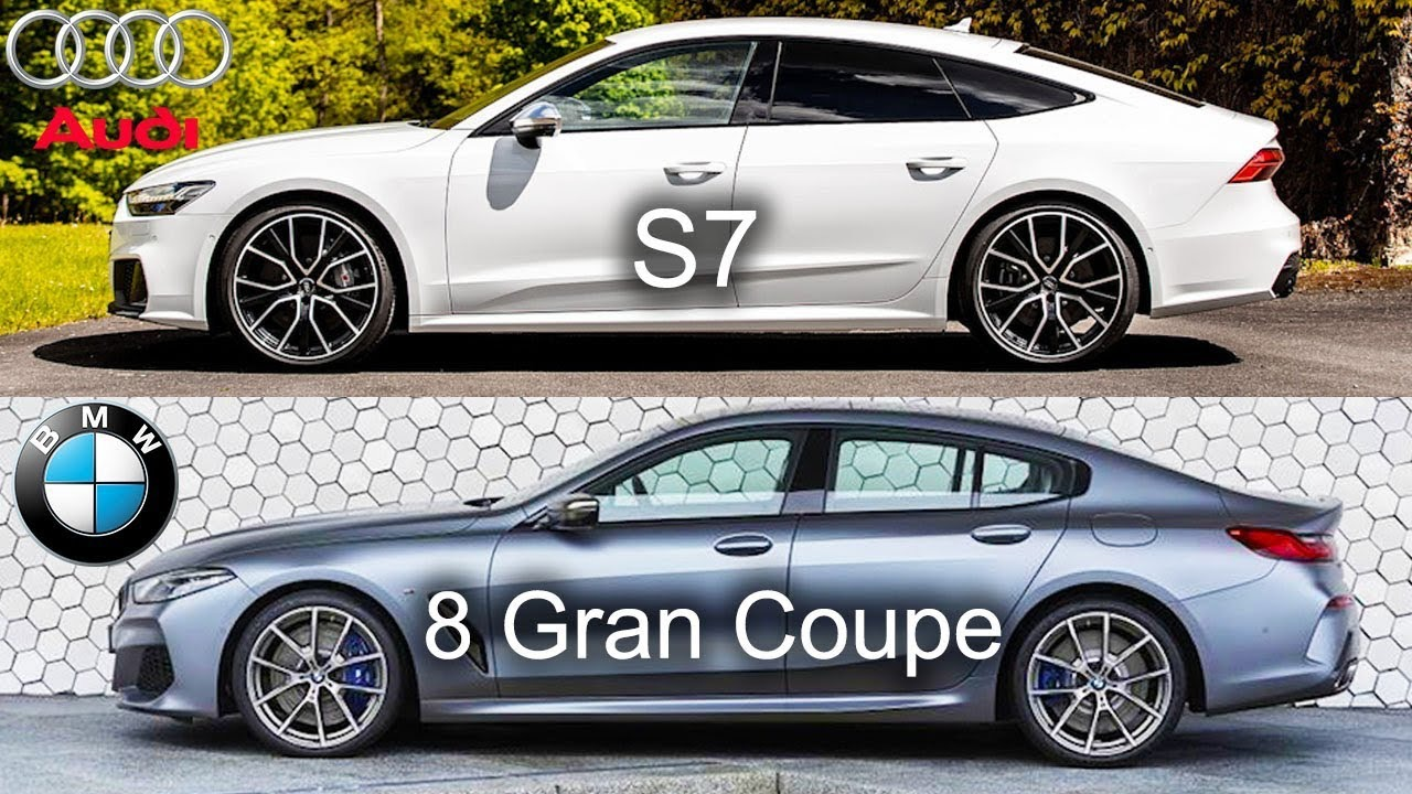 Audi S7 vs BMW 8 Series Gran Coupe 2020|Kondor(2019/12/21)