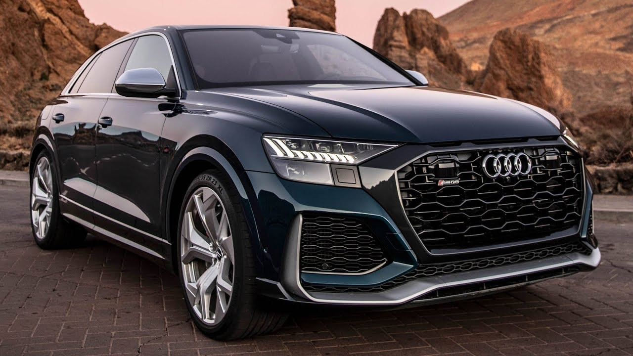FIRST TEST! 2020 AUDI RSQ8 - WORLDS FASTEST SUV - 11.9 IN A 1/4 MILE! V8TT 600HP|Auditography(2019/12/16)