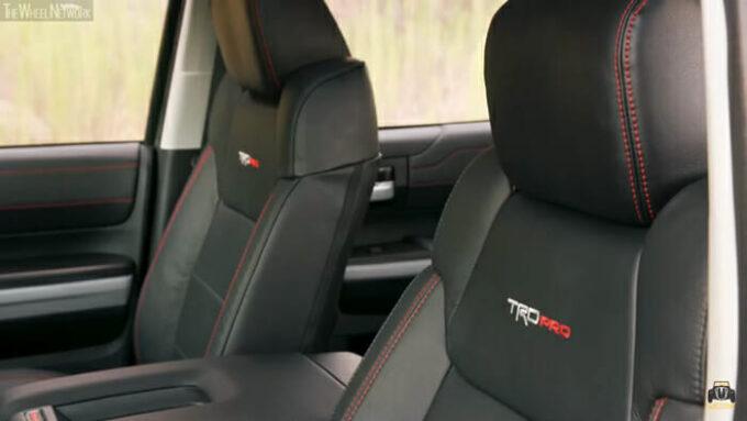 トヨタ ツンドラTRD Pro シート