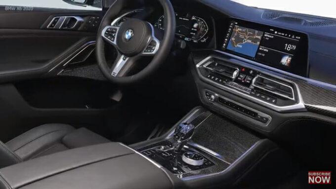 2020 BMW X6 内装