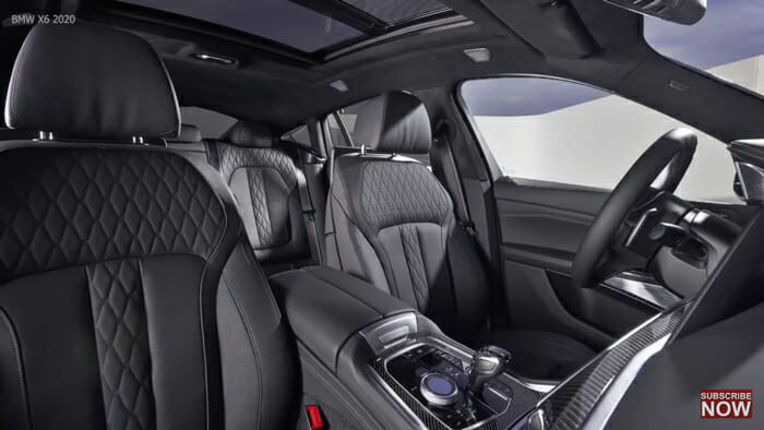 2020 BMW X6 インテリア