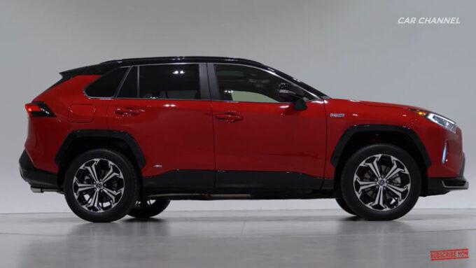 2021 Toyota RAV4プライム(PHEV)