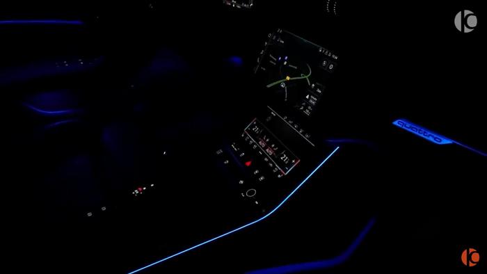 アウディRS6 アバント(ナルドグレー)アンビエントライト