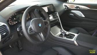 BMW 8シリーズ・グランクーペ(白)|インテリア