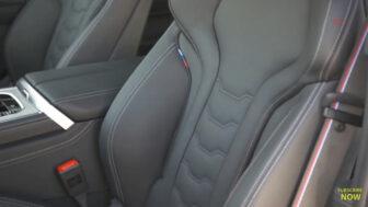 BMW 8シリーズ・グランクーペ(白)|スポーティーなシート