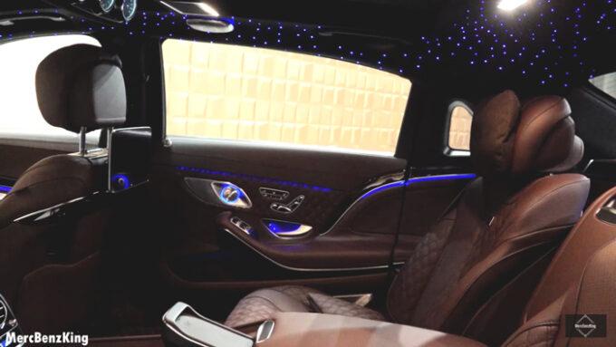 メルセデス・マイバッハ S650(ブラバス 900)星空イルミネーション