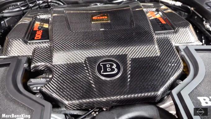メルセデス・マイバッハ S650(ブラバス 900|エンジンルーム