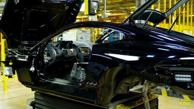 ジャガー工場 生産ライン|Fタイプの生産