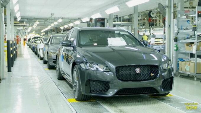 ジャガー工場 生産ライン|完成車