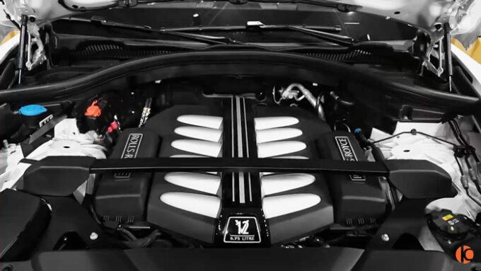 ロールス・ロイス・カリナン(マンソリー仕様)V12エンジン