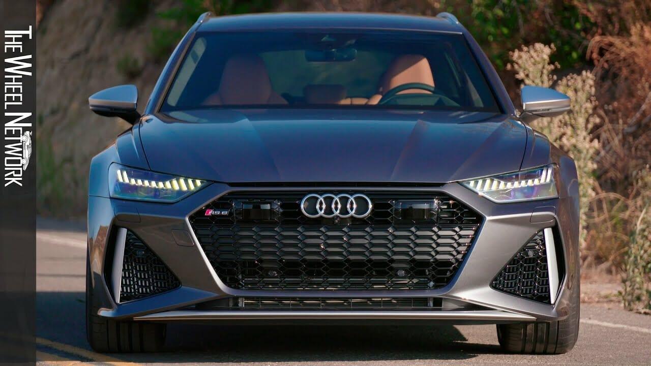 2020 Audi RS6 Avant in Malibu | Daytona Grey | Driving, Interior, Exterior