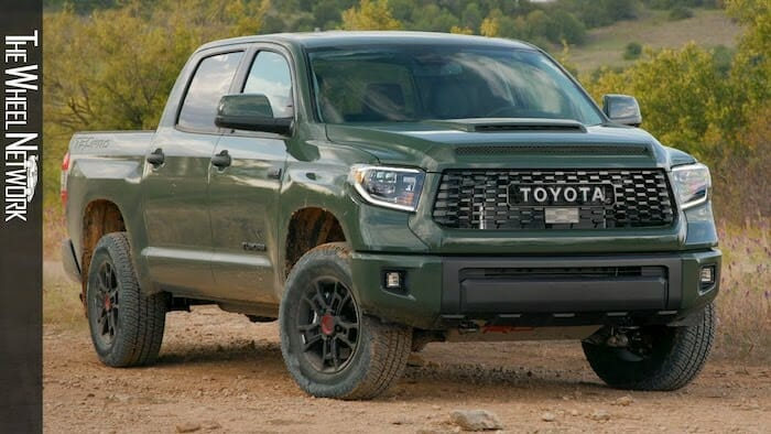 2020 Toyota Tundra TRD Pro | Army Green | Trail Driving, Interior, Exterior