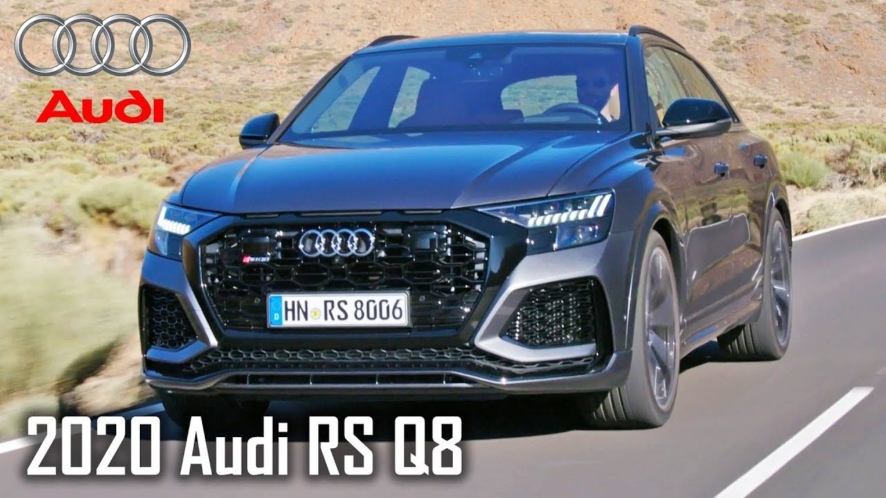 2020 Audi RS Q8 - Exterior, Interior, Driving /Daytona Grey|Kondor(2019/12/17)