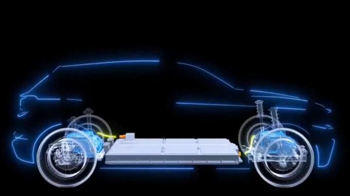 トグカー(C-SUV)フロアバッテリー