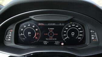 アウディRS Q8|スピードメーター