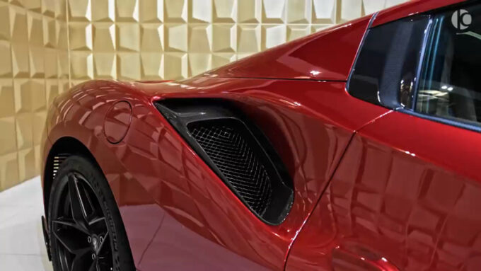 フェラーリ 488 ピスタスパイダー|空力処理