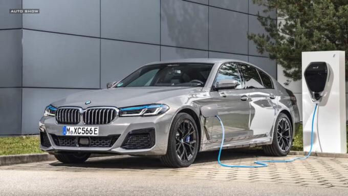 NEW BMW 5シリーズ(PHV)||充電