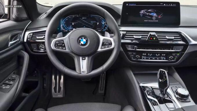 NEW BMW 5シリーズ|コックピット
