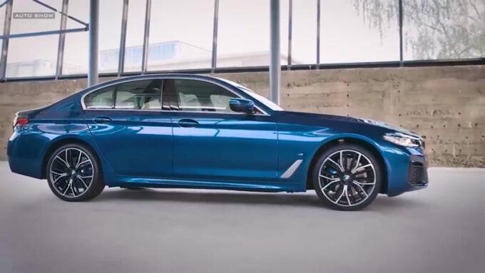 NEW BMW 5シリーズ(PHV)|ネイビーの外観