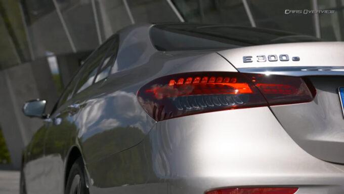 メルセデス・ベンツ E300e PHV|リアデザイン