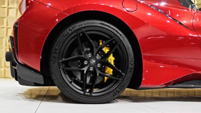 フェラーリ 488 ピスタスパイダー|ホイール