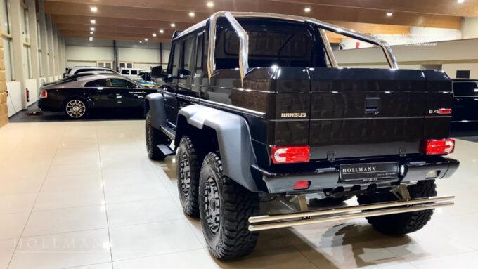 メルセデス・ベンツ G63 AMG ブラバス700|バックビュー