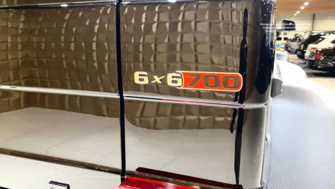 メルセデス・ベンツ G63 AMG ブラバス700|6WD