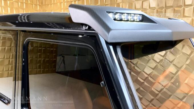 メルセデス・ベンツ G63 AMG ブラバス700|ヘッドライト