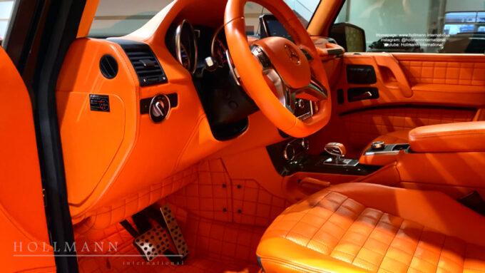 メルセデス・ベンツ G63 AMG ブラバス700|内装
