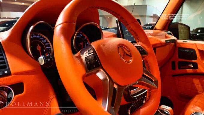 メルセデス・ベンツ G63 AMG ブラバス700|ステアリング