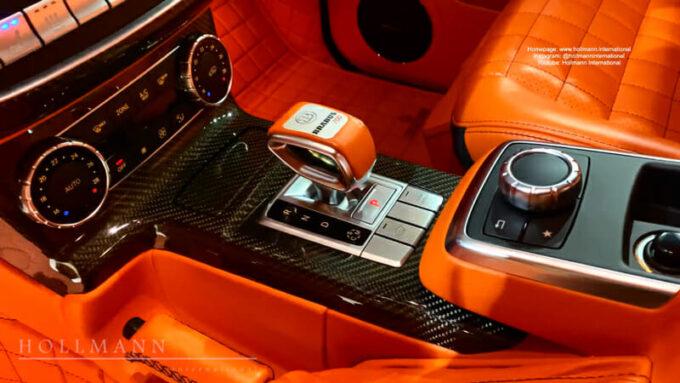 メルセデス・ベンツ G63 AMG ブラバス700|シフトノブ