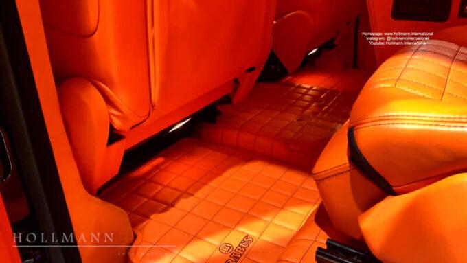 メルセデス・ベンツ G63 AMG ブラバス700|フロアマット