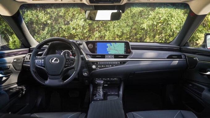 レクサス ES250 AWD Fスポーツ|インテリア