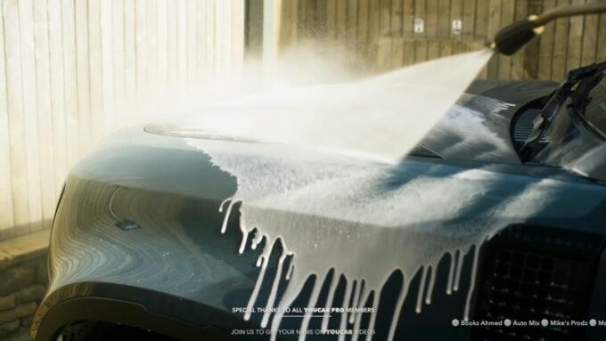 ランドローバー・ディフェンダー 洗車