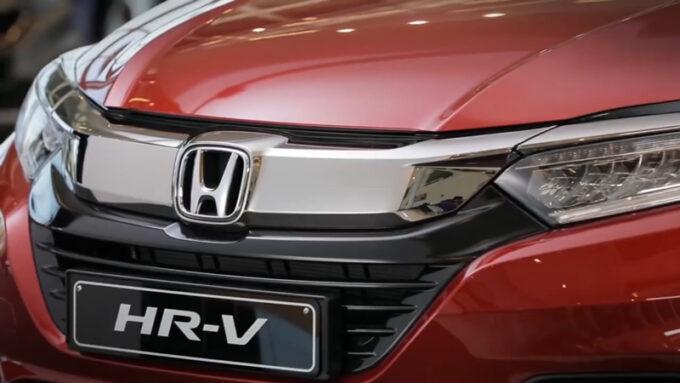 2020 ホンダ H-RV(日本名:ヴェゼル)|オレンジ|フロントビュー