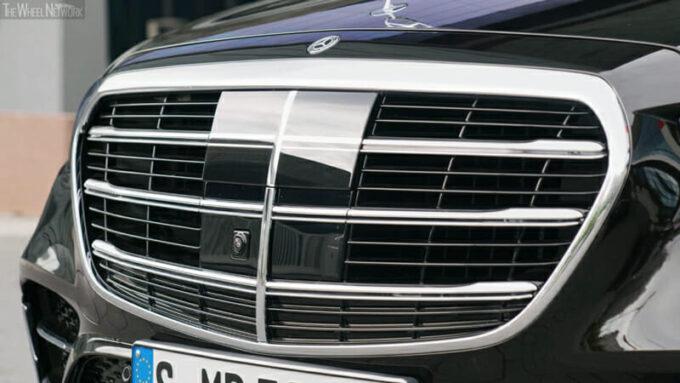 メルセデス・ベンツ 新型Sクラス(PHEV)センサー