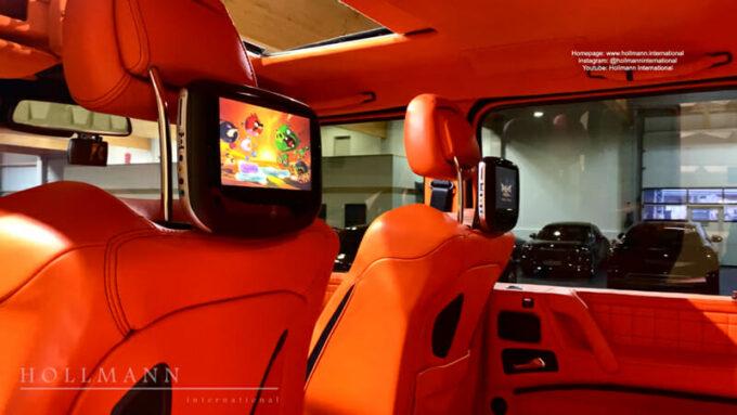 メルセデス・ベンツ G63 AMG ブラバス700|リアシート専用モニター