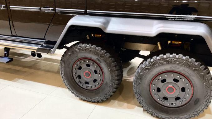 メルセデス・ベンツ G63 AMG ブラバス700|後輪