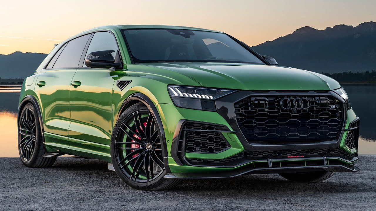 PREMIERE! 2021 AUDI RSQ8-R 740HP - THE NEW MONSTER-SUV FROM ABT SPORTSLINE IN DETAIL|Auditography(2020/08/13)