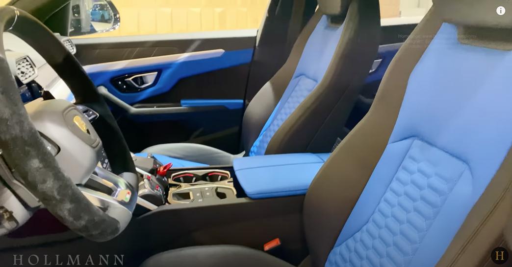 ランボルギーニ・ウルス(マットグレー)マンソリー 内装:運転席シート