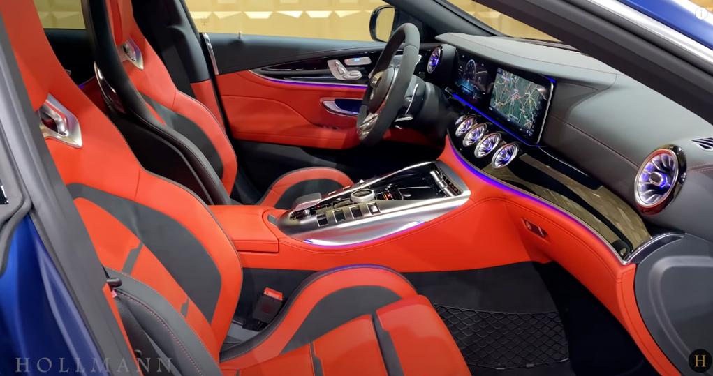 メルセデス・ベンツ GT 63S AMG 4M ブラバス800:インテリアデザイン
